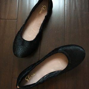 NWOT Elorie Black Ballerina Flats